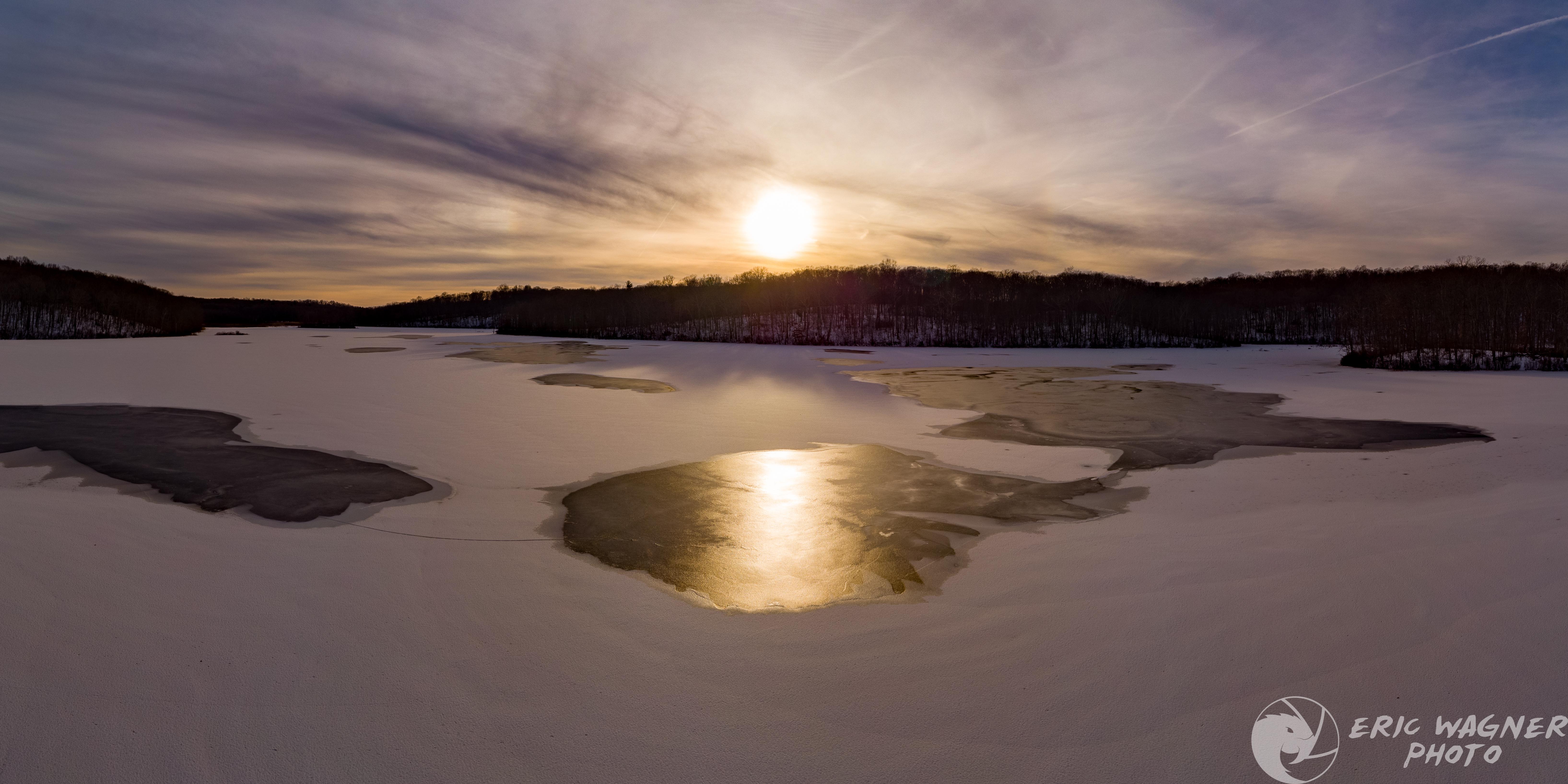 Andover Lake, Dec 2020