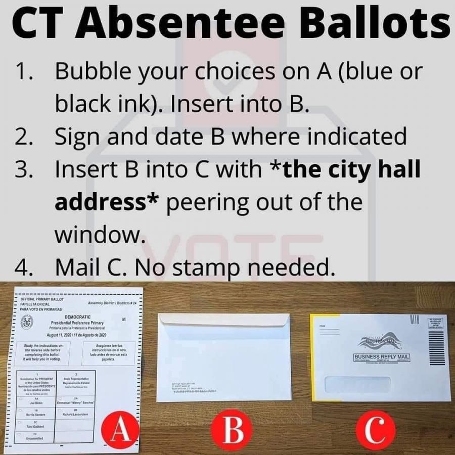 ct absentee ballots